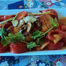鲜茄三文鱼