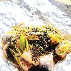 香茅蒜片三文鱼
