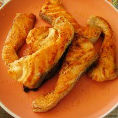 姜炒三文鱼的做法