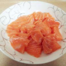 三文鱼刺身的做法