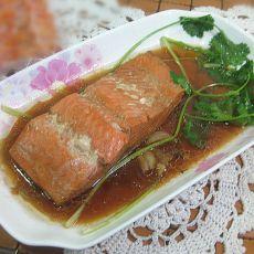 清炖三文鱼