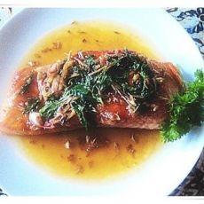 香茅柠汁三文鱼