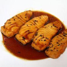 酱汁三文鱼