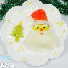 圣诞老人蛋包饭