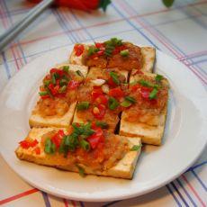 电饼铛煎豆腐