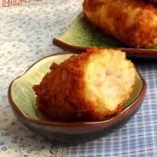 鲜虾土豆卷