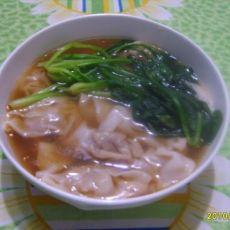 香菇虾仁猪肉馄饨