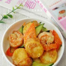 三鲜玉子豆腐