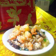 潮汕焖香饭的做法