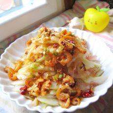 虾仁浇汁西瓜皮的做法