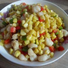 玉米虾仁的做法