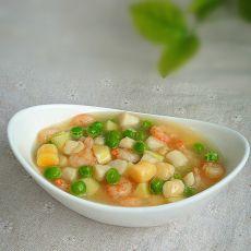 鲜贝炒虾仁