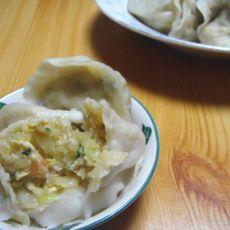 虾仁白菜饺子的做法