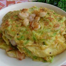 西葫芦鸡蛋烙饼