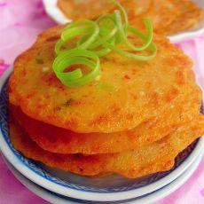 泡菜海鲜饼