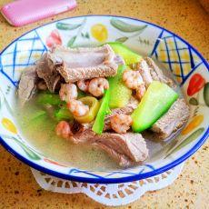 虾仁小排汤