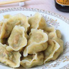 瓜皮虾仁水饺