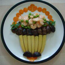 毛豆炒虾仁