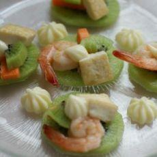 蔬果豆腐虾仁