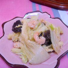 虾仁烧白菜