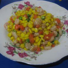 玉米虾仁粒