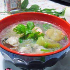 丝瓜海鲜汤
