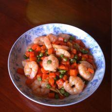 虾仁炒青豆