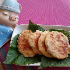 土豆虾仁饼