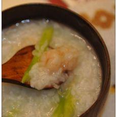 芦笋虾仁粥