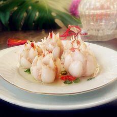 鲜虾酿百合