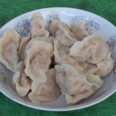倭瓜虾仁水饺