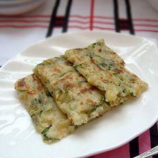 虾香玉米饼