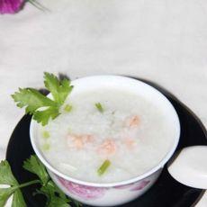 香芹虾肉粥