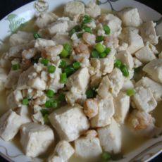 虾仁豆腐的做法