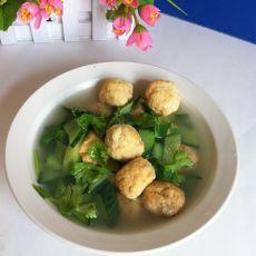 黄瓜虾仁丸子汤的做法