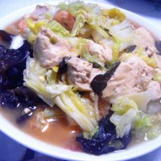 虾仁白菜豆腐