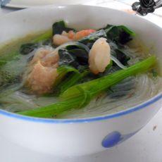 清水虾仁丸子汤