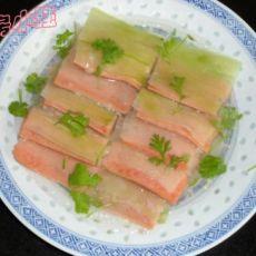 火腿虾肉冬瓜夹