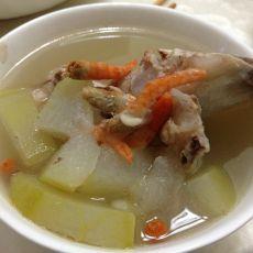 海米冬瓜大骨汤