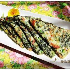 紫菜煎蛋饼-首发