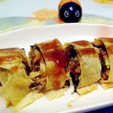 什锦豆腐皮卷