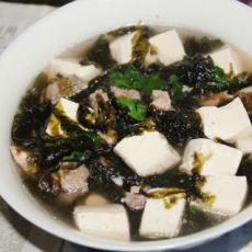 排骨豆腐紫菜汤的做法