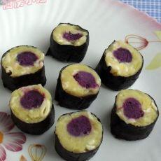 薯泥紫菜卷
