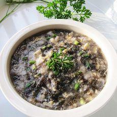紫菜面疙瘩汤