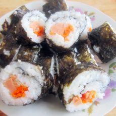 鱿鱼紫菜卷饭
