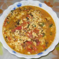 西红柿紫菜汤