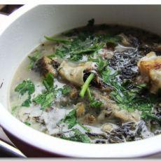 紫菜鱼排汤