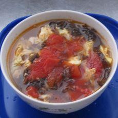 紫菜番茄蛋花汤的做法