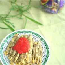 紫菜虾皮饼的做法