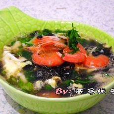紫菜海鲜汤